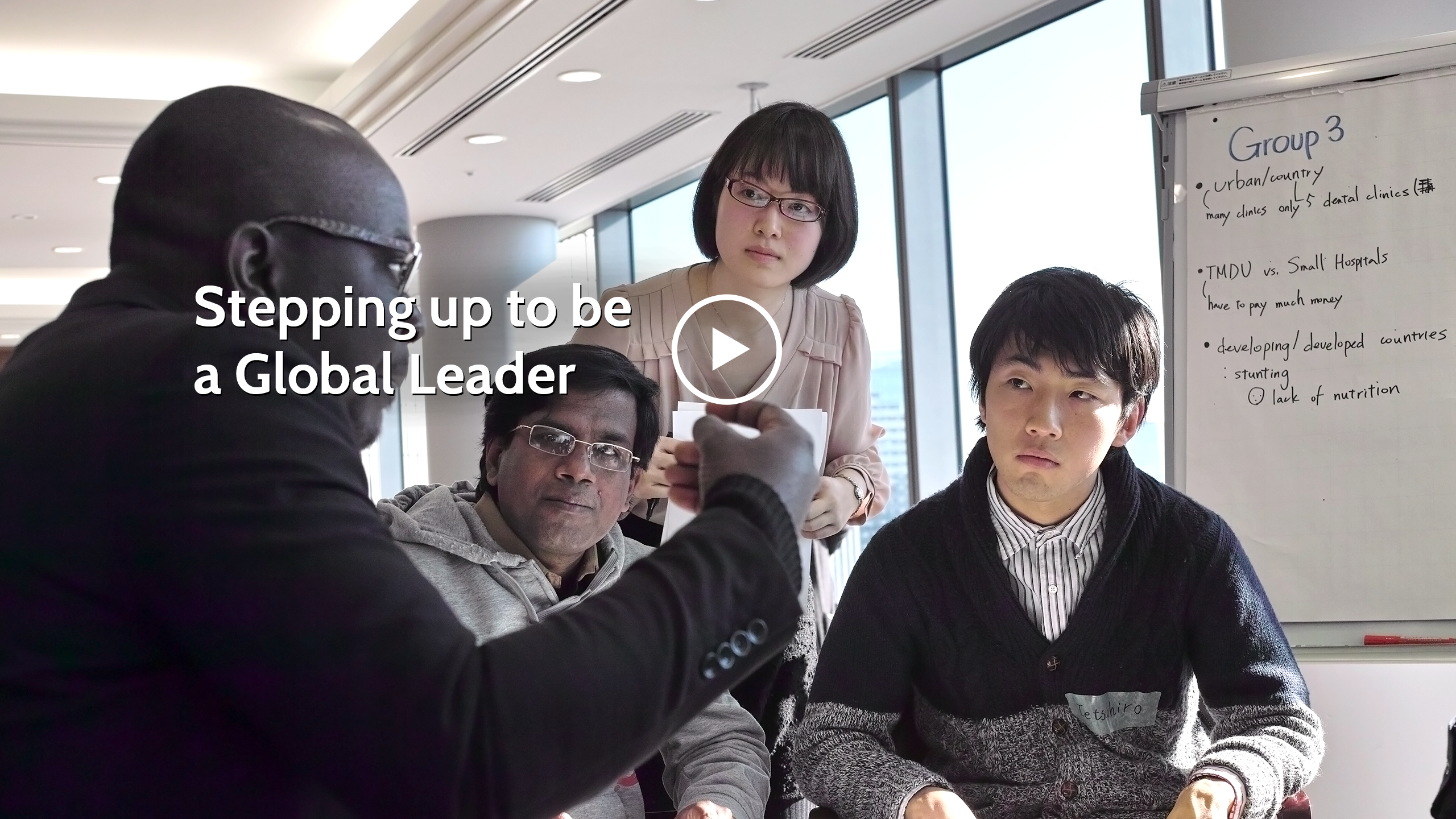 Stepping up to be a Global Leader